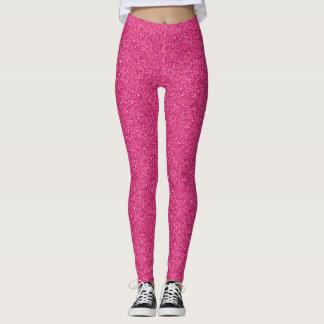 Girly weiblicher rosa leggings