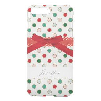 Girly Weihnachtsbaum-Feiertags-Telefon-Kasten iPhone 8 Plus/7 Plus Hülle