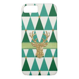 Girly Weihnachtsfeiertags-Baum-Telefon-Kasten iPhone 8/7 Hülle