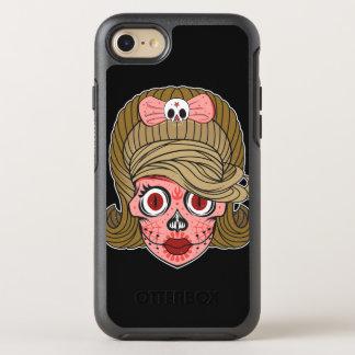 Girly Zuckerschädel OtterBox Symmetry iPhone 7 Hülle