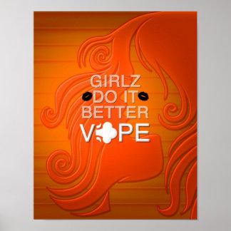 Girlz verbessert es Vape Poster