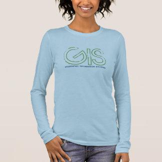 GIS, geographisches Informationssystem - besonders Langarm T-Shirt