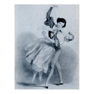 Giselle Postkarte