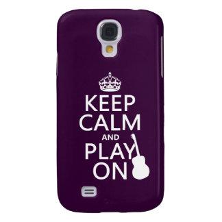 Gitarre - behalten Sie Ruhe und Spiel auf (jede Galaxy S4 Hülle