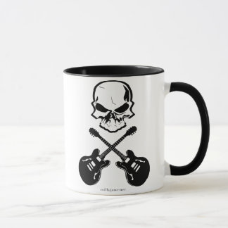 Gitarre entbeint Kaffee-Tasse Tasse