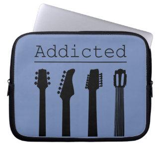 Gitarre gewöhnt laptopschutzhülle