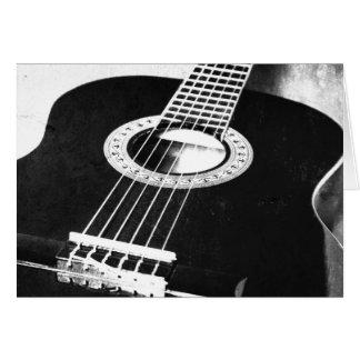 Gitarre Grußkarten