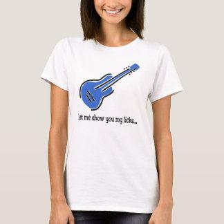 Gitarre leckt 10x10 T-Shirt