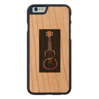 Gitarre mischen wieder carved® iPhone 6 hülle kirsche