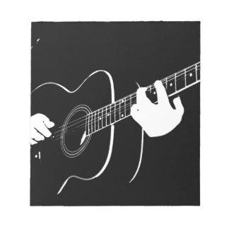 Gitarre Notizblock