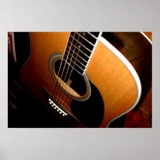 Gitarre Poster
