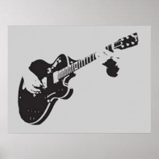 Gitarre - plakat