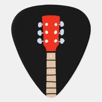 Gitarrehals handgeschriebener Schriftart-ähnlicher Plektrum