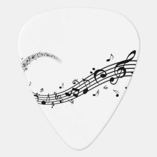 Gitarren-Auswahl-Musik und Liebe Plektron