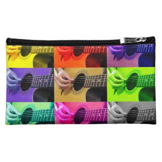 Gitarren-Collage der Farbhandtasche - Kupplung