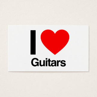 Gitarren der Liebe I Visitenkarte