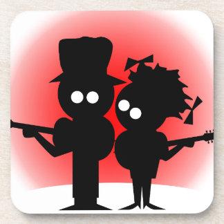 Gitarren-Duo Untersetzer