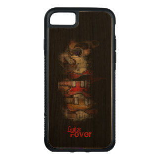 Gitarren-Fieber iPhone 7 Mobiltelefon-Kasten Carved iPhone 8/7 Hülle