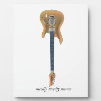 Gitarren-Führung Fotoplatte