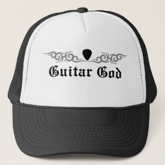 Gitarren-Gott Stammes- Truckerkappe