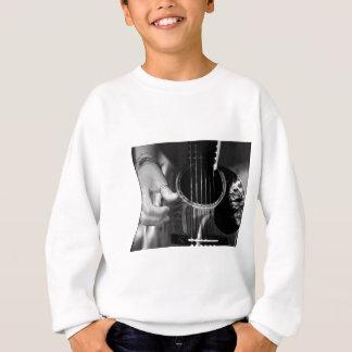 Gitarren-Klimpern Sweatshirt