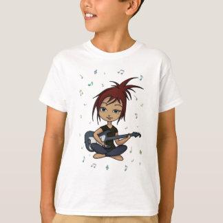 Gitarren-Küken (Version 1, mit Musiknoten) T-Shirt