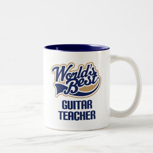 Gitarren-Lehrer-Geschenk Tee Tassen