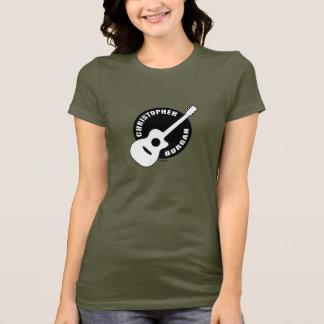 Gitarren-Logo-Shirt Christophers Burgan T-Shirt