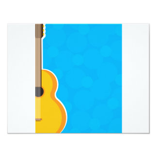 Gitarren-Rahmen 10,8 X 14 Cm Einladungskarte