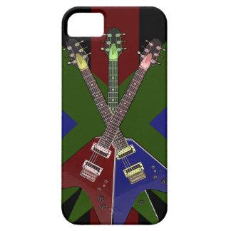 Gitarren-Reißwolf des Fliegen-V Schutzhülle Fürs iPhone 5