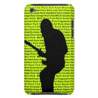 Gitarren-Rocker Grün iPod Touch Etuis