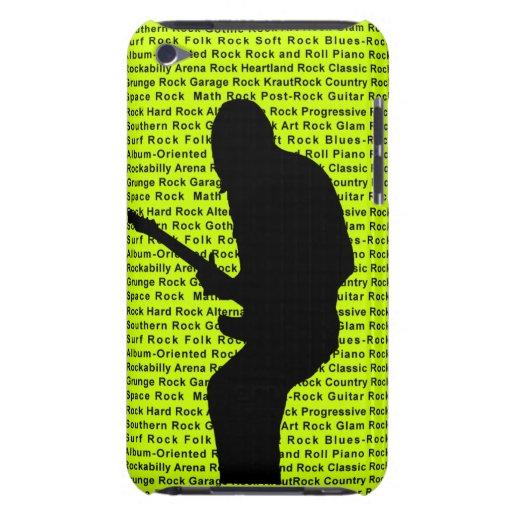 Gitarren-Rocker (Grün) iPod Touch Etuis