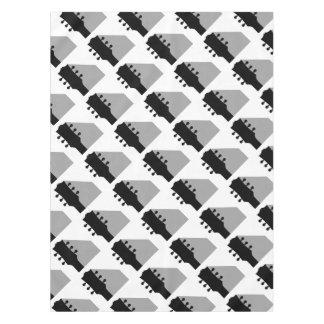Gitarren-Spindelkasten mit Schatten Tischdecke