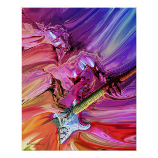 Gitarren-Theorie 4 Poster