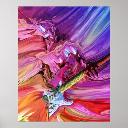 Gitarren-Theorie 4 Plakate