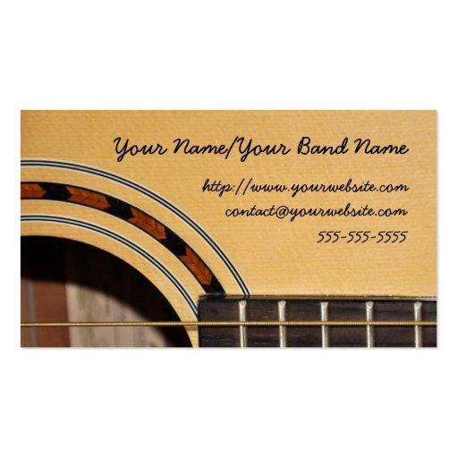 Gitarren-Visitenkarte