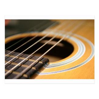 Gitarren-Zeit Postkarte
