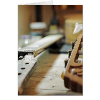 Gitarrengriffe, die flachen dof reparieren karte