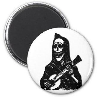 GitarreSkeleton Serenade Runder Magnet 5,7 Cm