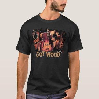 Gitarret-Stück, HOLZ ERHALTEN T-Shirt