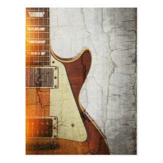 GitarreVibe 1 - Single schnitt 59 Postkarte