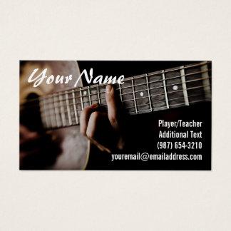 Gitarrist - Lehrer - Texter und Komponist - Band Visitenkarte