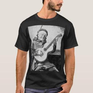 Gitarrist-Malerei vom klassischen Maler T-Shirt