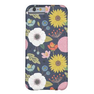 Gitter-Blumentelefon-Kasten - Marine Barely There iPhone 6 Hülle