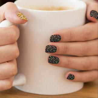 Gitter-Fantasie 2 Minx Nagelkunst