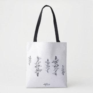 Gitter-Rosen-Taschen-Tasche Tasche