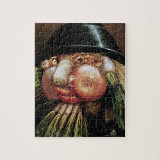 Giuseppe Arcimboldo; Der grüne Lebensmittelhändler Puzzle