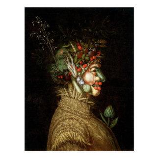 Giuseppe Arcimboldos der Sommer (1563) Postkarten