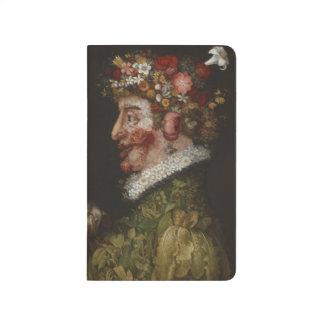 Giuseppe Arcimboldos La Primavera (1563) Taschennotizbuch