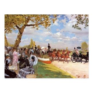 Giuseppe de Nittis- Return von den Rennen Postkarten